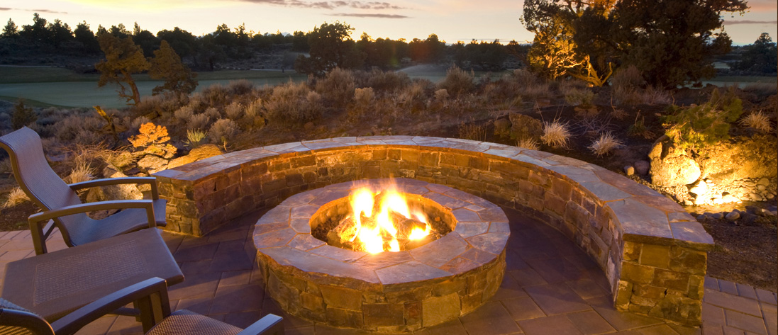 enjoy fireside outdoor gatherings into the cooler months »