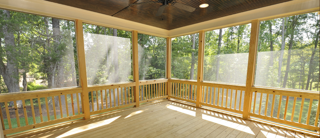 extend your living space with a screened porch »