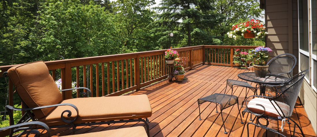 with The Deck Heads on your side, you can kick-back and enjoy, worry free »